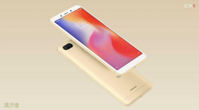 телефон Xiaomi Redmi 6