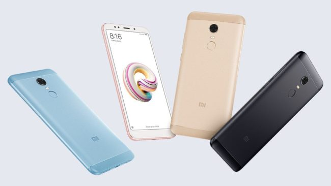 Xiaomi Redmi Note 5 дизайн