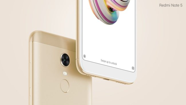 Xiaomi Redmi Note 5 экран