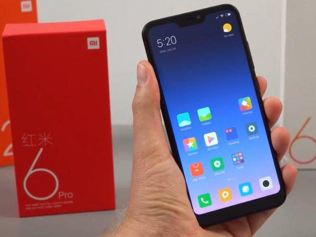 дизайн Xiaomi Redmi Note 6 Pro