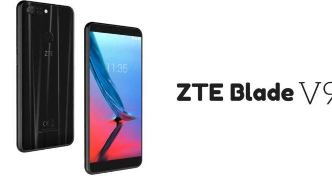ZTE Blade V9 внешний вид
