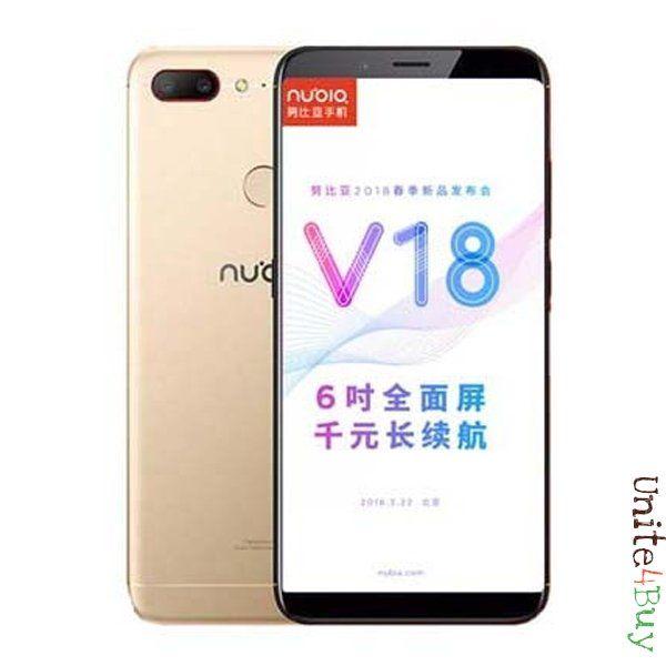 ZTE Nubia V18 экран