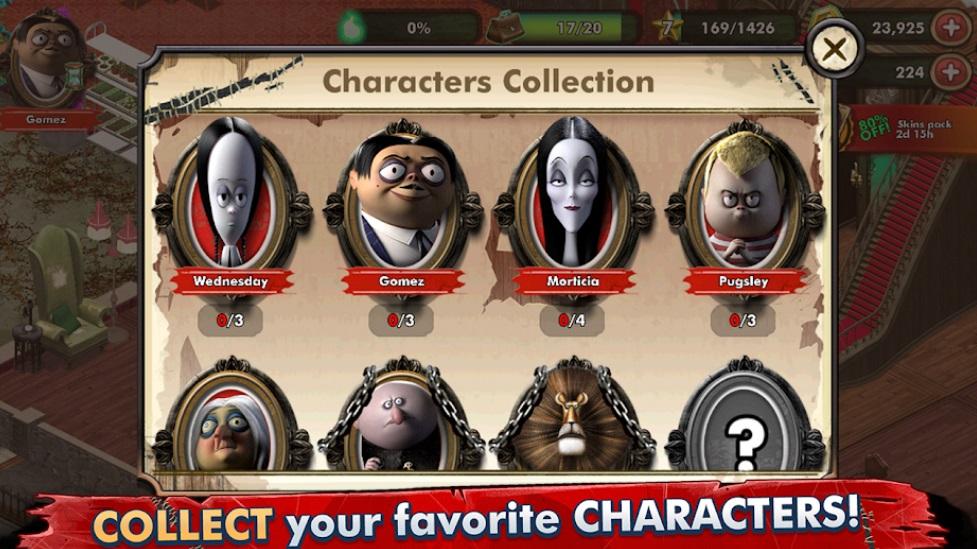 The Addams Family - Mystery Mansion на Андроид