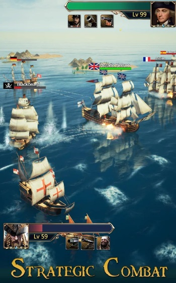 Age of Sail: Navy & Pirates на Андроид