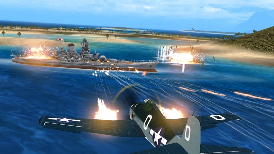 Air Combat Pilot: WW2 Pacific на Андроид