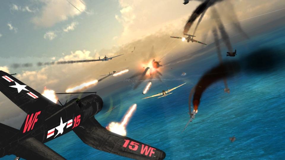 Air Combat Pilot: WW2 Pacific на ПК