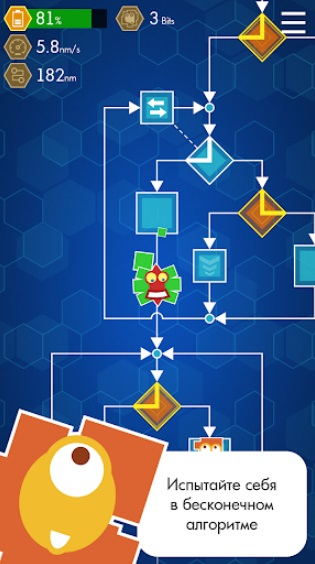 Algorithm. Journey inside the program на Андроид