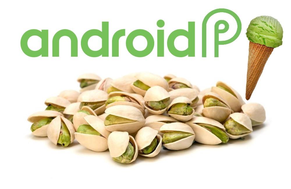 Новый Android 9 (P) может называться Pistachio (Фисташка)