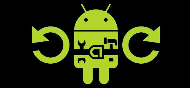 Перезагрузка Android-планшета