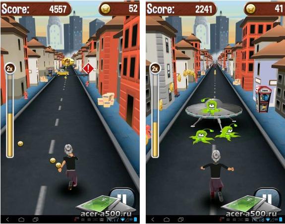 "Игра ""Angry Gran Run"" для планшетов на Android"