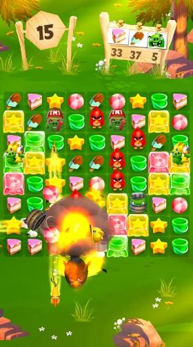 Angry Birds Match на Андроид