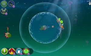 Angry Birds Space для планшетов Android