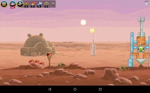 Angry Birds Star Wars для планшетов Android