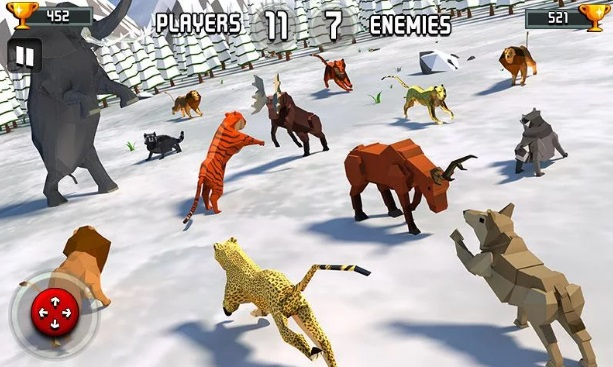 Animal Kingdom Battle Simulator 3D на Андроид