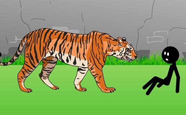 Stickman mentalist: Animals Killer на ПК