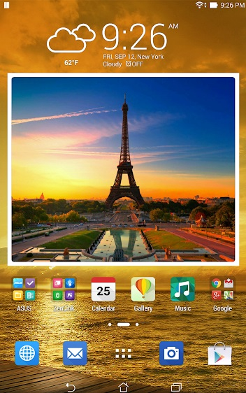 Animated Photo Widget на Андроид