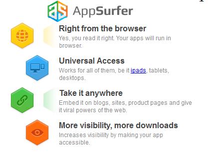 AppSurfer — запуск Андроид-приложений из браузера