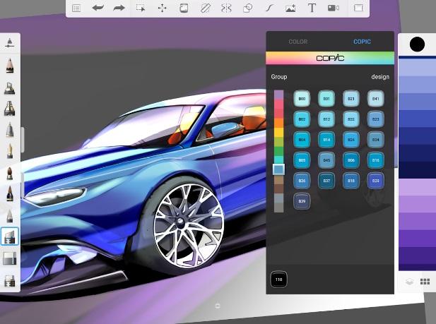 Autodesk SketchBook на Андроид