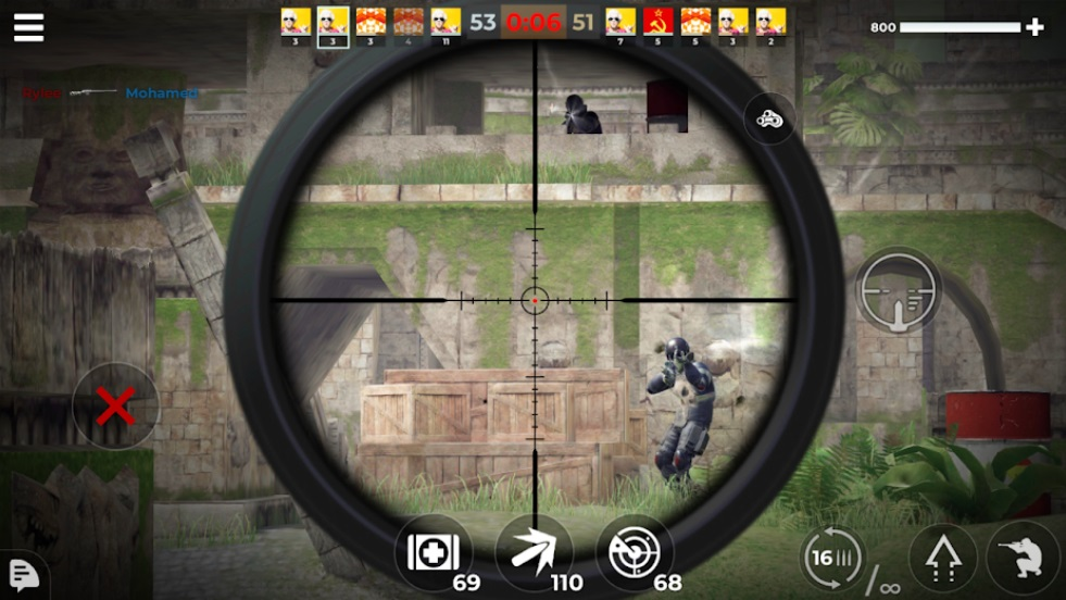 AWP Mode: Elite online 3D sniper FPS на Андроид