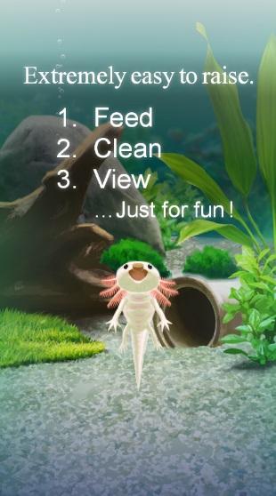 Axolotl Pet на Андроид