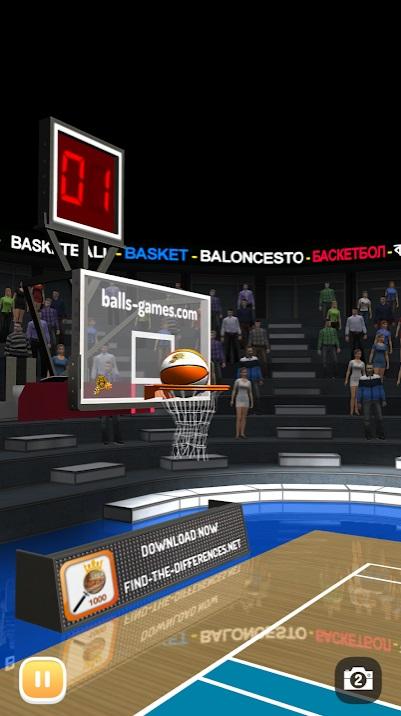 Баскетбол 3D на Андроид