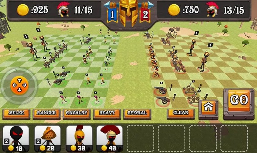 Battle of Rome: War Simulator на Андроид