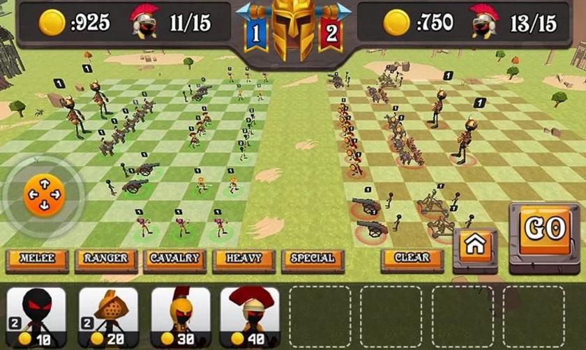 Battle of Rome: War Simulator на Андроид