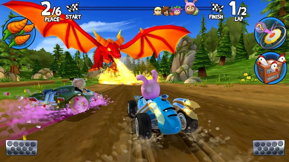 Beach Buggy Racing 2 на Андроид