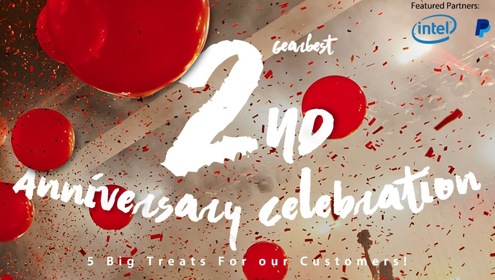 GearBest празднует двухлетие