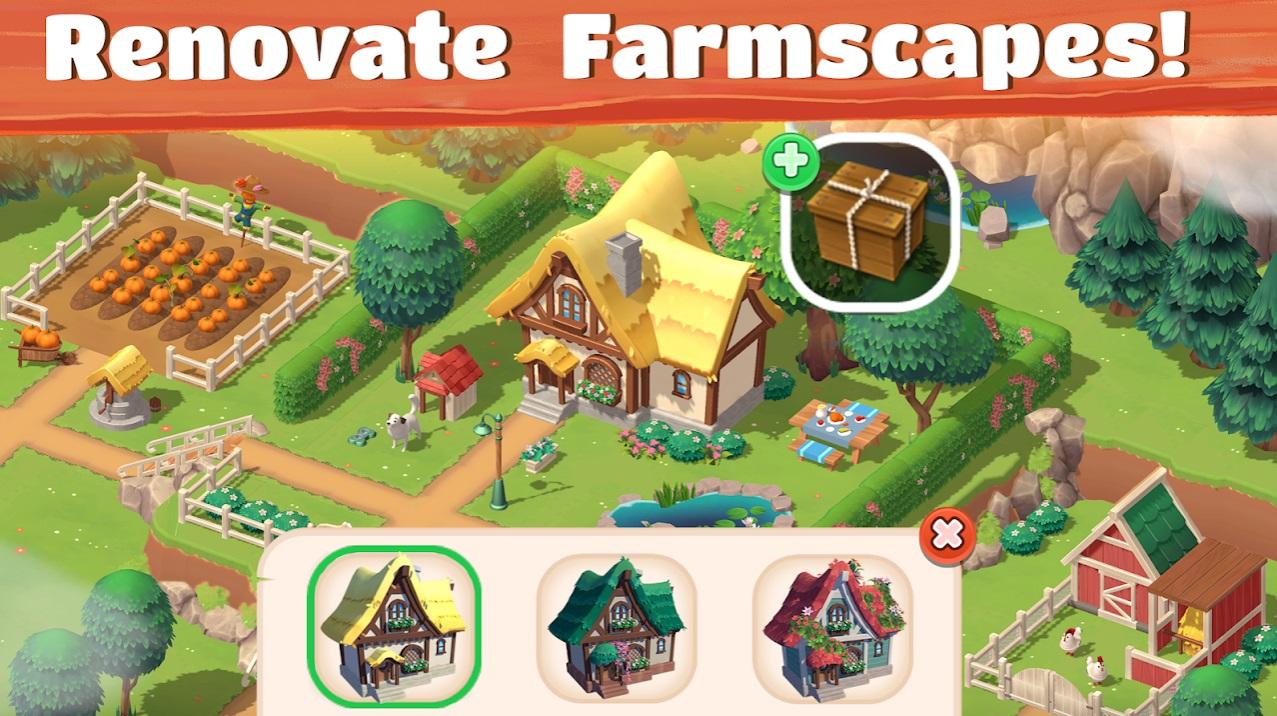 Big Farm: Tractor Dash на Андроид