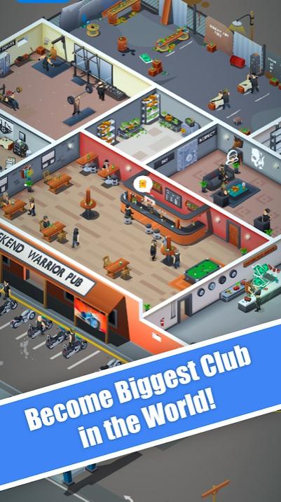 Biker Club Tycoon на Андроид