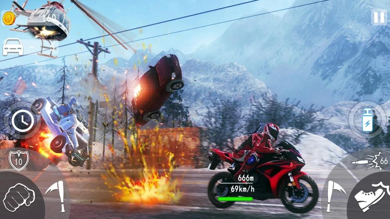 Biker Gang: Highway Death Moto 3D на Андроид