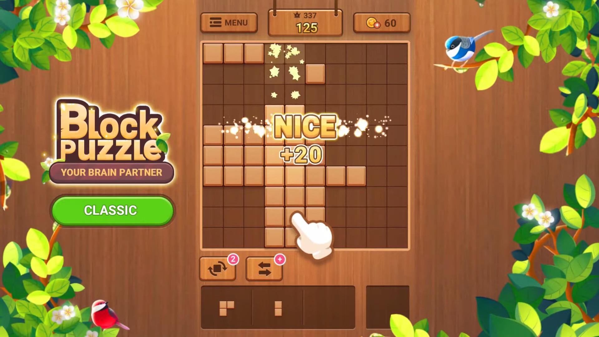 Wood Block Puzzle на Андроид
