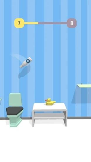 Bottle Jump 3D на Андроид
