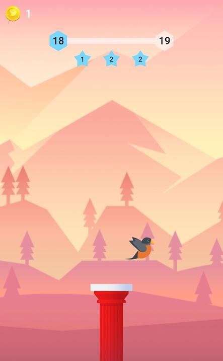 Bouncy Bird на Андроид