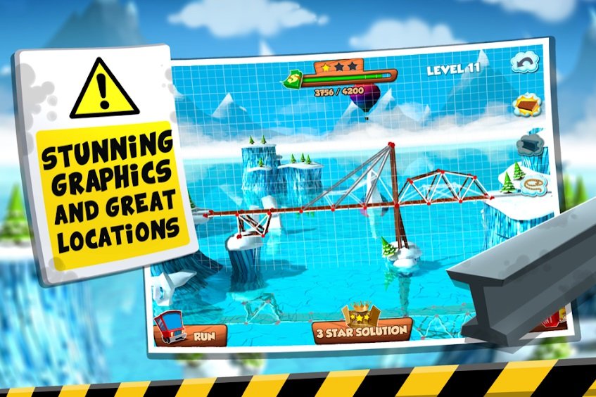 Bridge Builder Simulator на Андроид