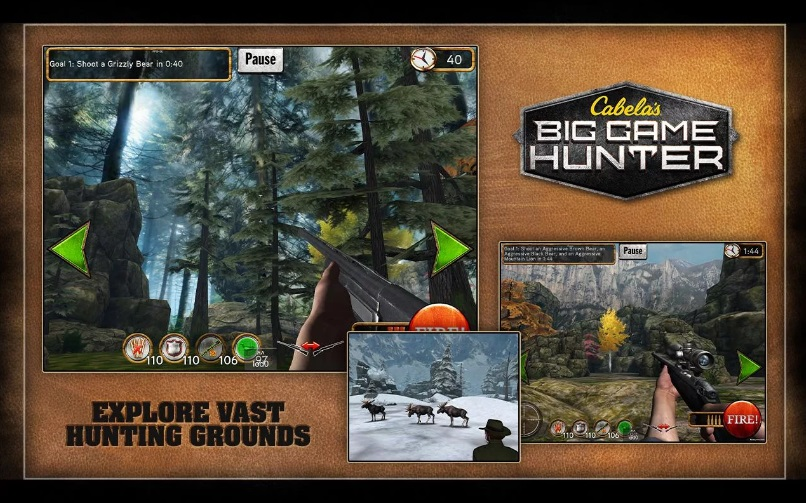 Cabela's Big Game Hunter на Андроид
