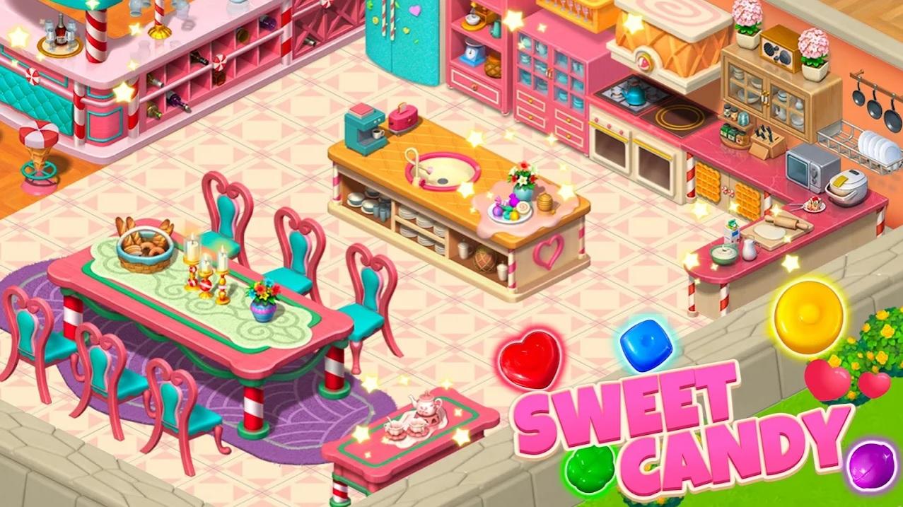Candy Legend: Manor Design на Андроид