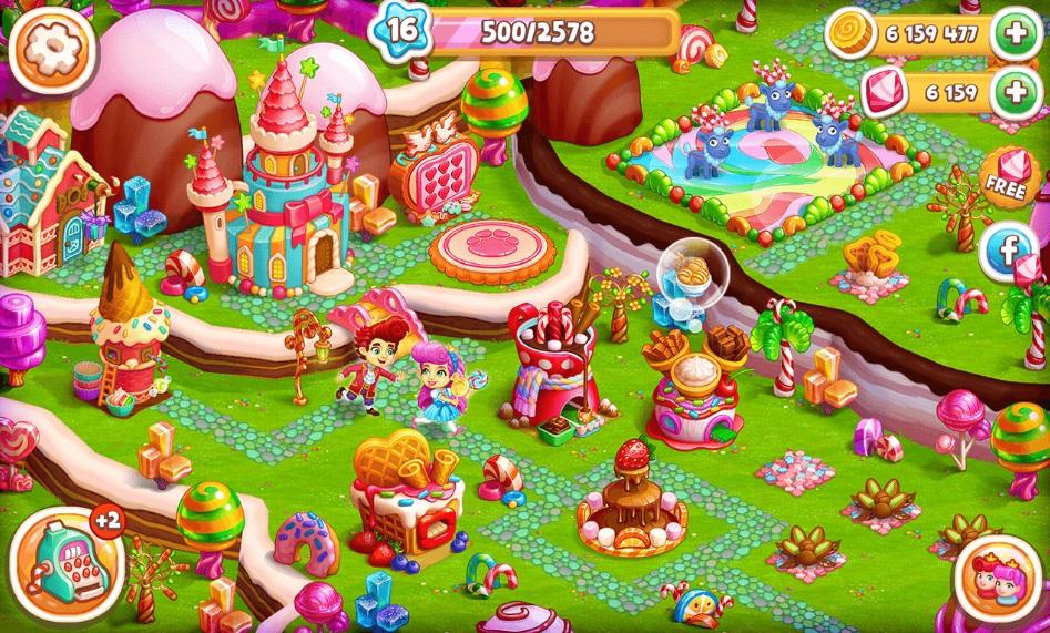 Candy Farm на Андроид