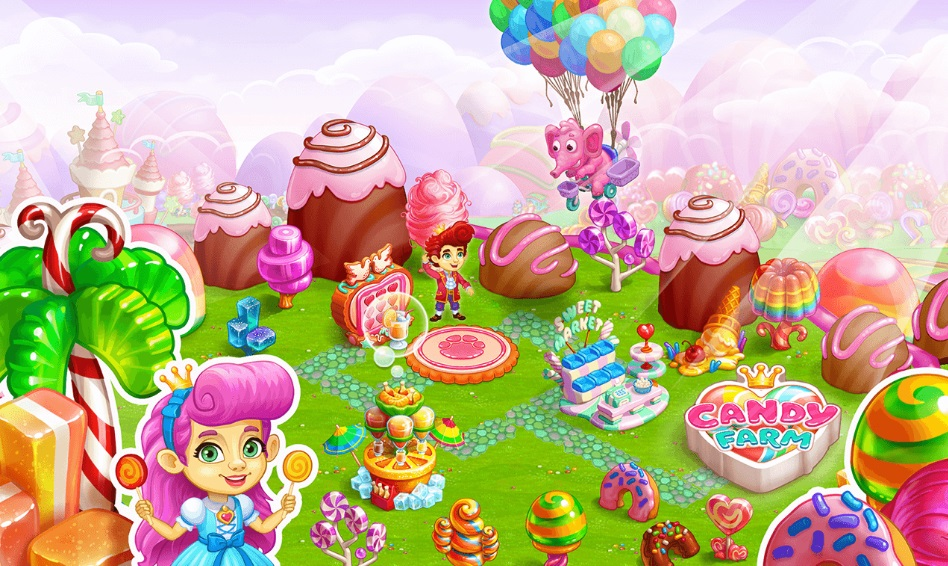 Candy Farm на ПК