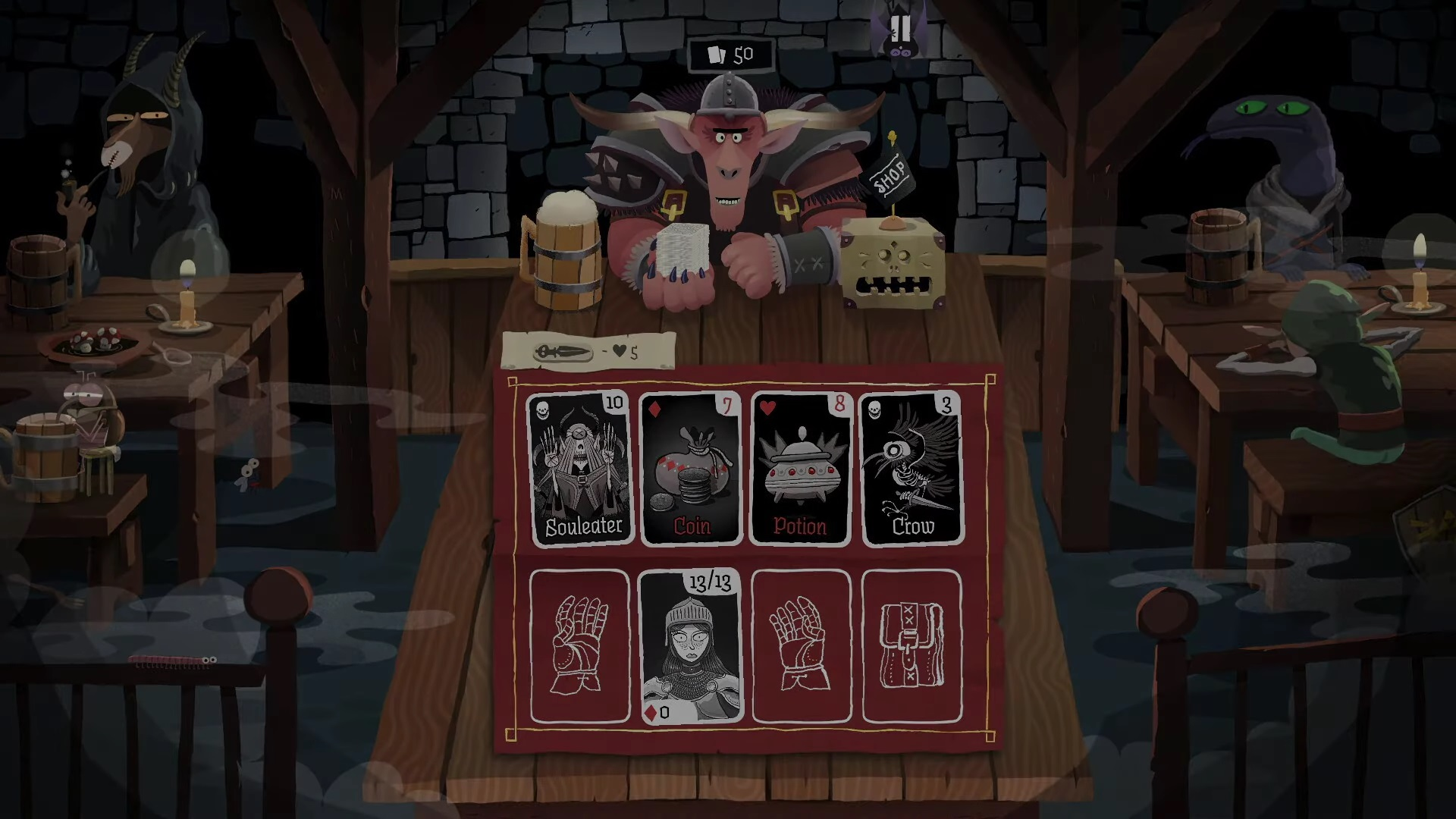 Card Crawl на Андроид