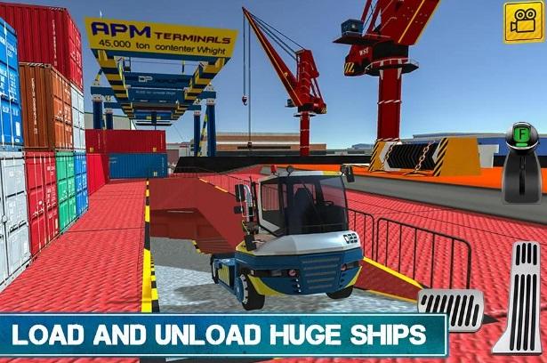 Cargo Crew: Port Truck Driver на Андроид