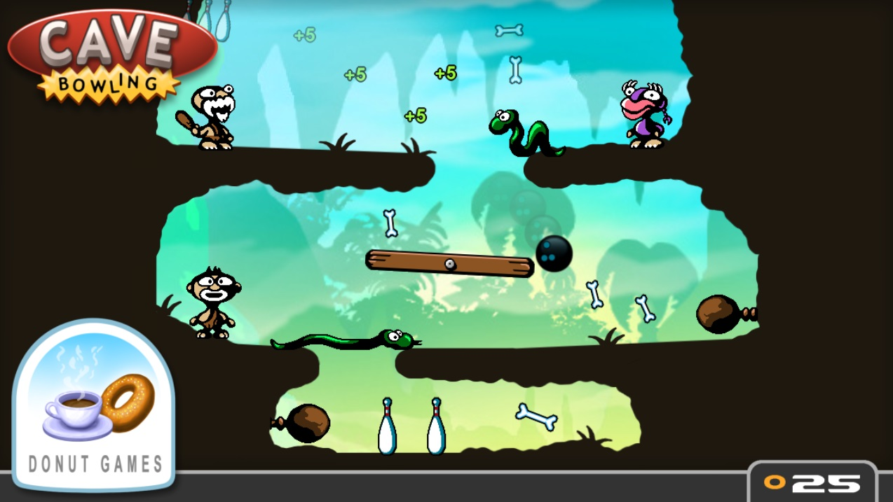 Cave Bowling на Андроид