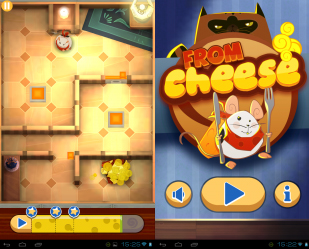 "Игра ""From Cheese"" для планшетов на Android"
