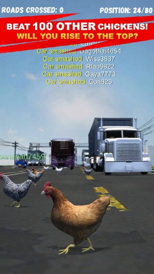 Chicken Challenge: Cross Road Royale на Андроид