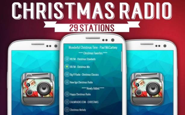 Рождественская музыка - радио на Андроид