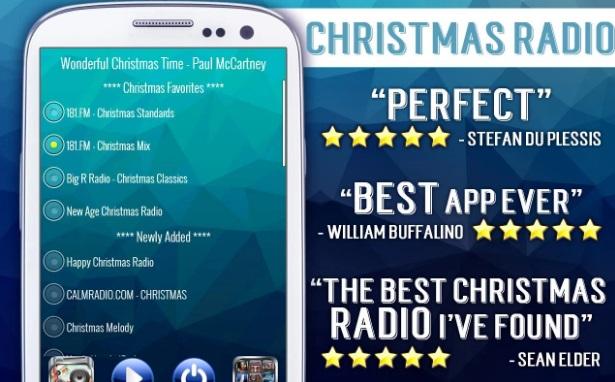 Рождественская музыка - радио на ПК
