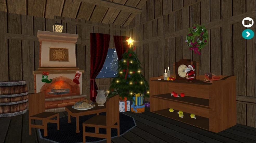 Interactive Christmas 3D HD Live Wallpaper