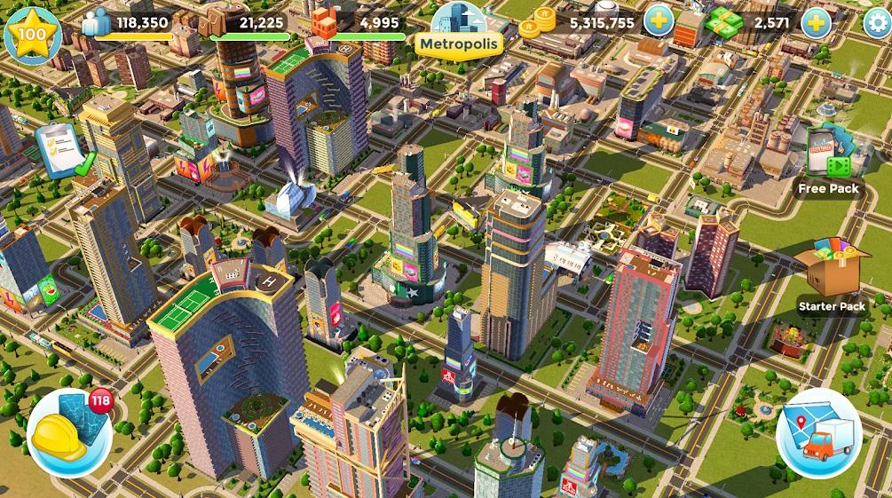Citytopia на Андроид