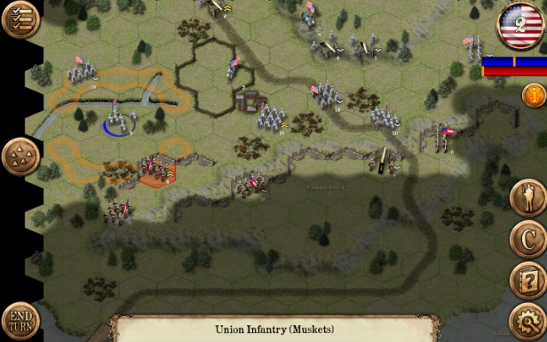 Civil War: 1861 на Андроид